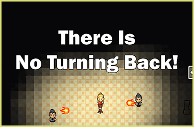 There Is No Turning Back! Logo